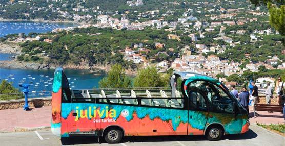 El ayuntamiento de Palafrugell realizará expediciones turísticas regulares en un autobús descapotables de Sarfa