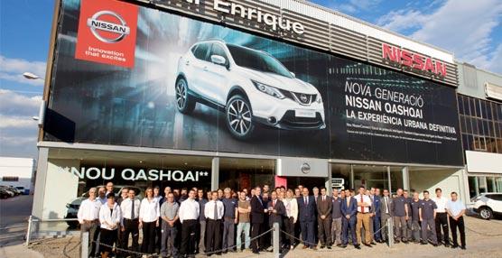 Nissan entrega el Premio Equipo de Oro del Año Fiscal 2013 a sus mejores concesionarios en España
