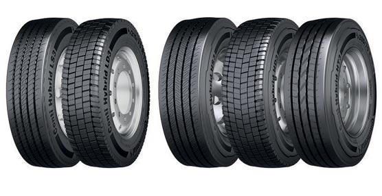 Conti Hybrid es la nueva gama de neumáticos destinada al reparto y distribución regional de Continental