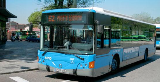Autobús de EMT Madrid.
