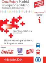 CRTM va a colaborar los próximos dos años con Cruz Roja Madrid.