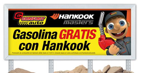 Confortauto y Hankook regalan hasta 60 euros de combustible en los meses de julio y agosto