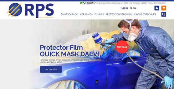 Nace RPS Online, una tienda virtual de accesorios y consumibles profesionales para el taller de chapa y pintura