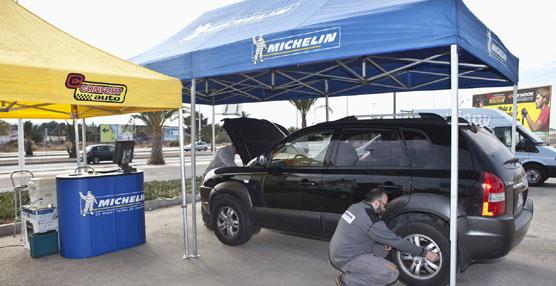 Neumáticos Soledad y Michelin realizarán en Elche revisiones gratuitas de vehículos