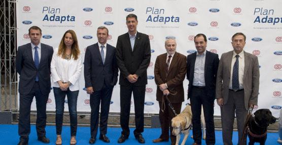 Ford y Fundación ONCE presentan en Badalona el Plan Adapta dirigido a personas discapacitadas