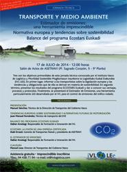 El Instituto Vasco de Logística celebra una jornada sobre transporte y medio ambiente en Bilbao