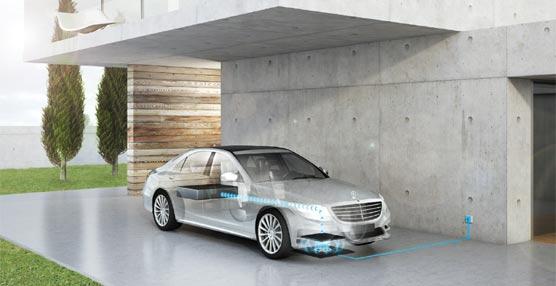 Carga sin cables para vehículos eléctricos e híbridos con la tecnología alemana de Daimler y BMW