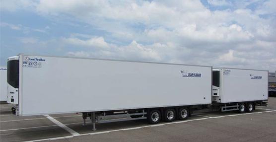 La empresa de transporte Disfrimur y Lecitrailer desarrollan de forma conjunta el diseño de un vehículo '25,25'