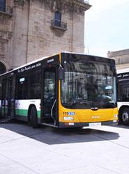 Jaén anuncia que en 2015 pondrá en marcha un nuevo microbús y un autobús para el transporte urbano