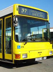 El Área Metropolitana de Barcelona renueva ocho autobuses metropolitanos que dan servicio a Viladecans