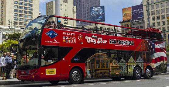 Grupo Julià empieza a operar el bus turístico de la ciudad estadounidense de San Francisco