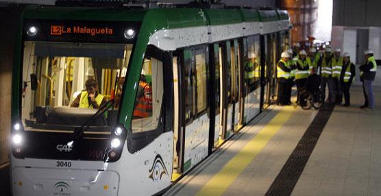 El Metro de Málaga empezará a funcionar el 30 de julio cubriendo dos de los distritos más densamente poblados