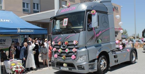 La Agrupación Segoviana de Empresarios de Transportes celebra la festividad de San Cristóbal 2014