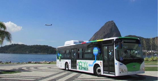 La china BYD invertirá 95 millones de dólares en Brasil para su planta de autobuses con energía renovable