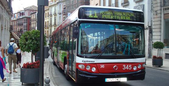 La aplicación GranadaBus, que permite conocer la hora de llegada del urbano, está nuevamente operativa