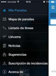 La 'app' oficial de la EMT Madrid, ahora más rápida, intuitiva y fácil de utilizar, se renueva por completo