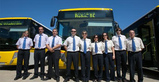Las líneas L80, L81, L82, L85, L86, L87, L96, L97 i L99 del grupo Baixbus renuevan parte de su flota de autobuses