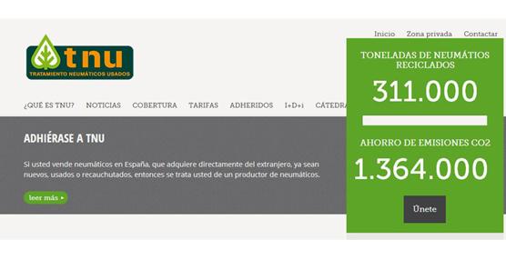 TNU presenta su nueva web, desarrollada para adaptarse a los distintos dispositivos de navegación