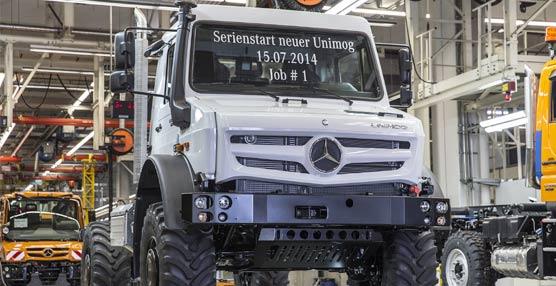 La planta de camiones de Mercedes-Benz en Wörth alumbra el nacimiento del nuevo Unimog todoterreno
