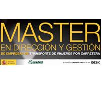 Asintra abre la inscripción al Máster en Dirección y Gestión de Empresas de Transporte de Viajeros por Carretera