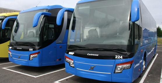 La empresa coruñesa Cal Pita recibe sus dos unidades Stellae de Castrosua sobre bastidor Volvo