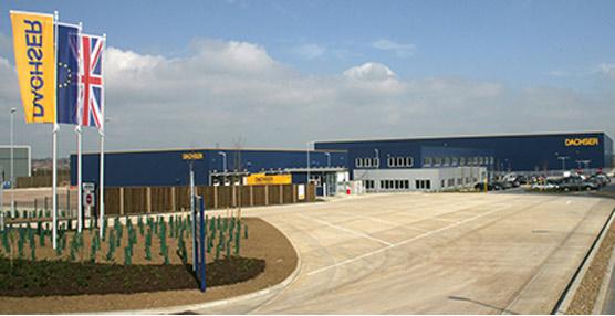Dachser inaugura un nuevo centro logístico en Reino Unido tras una inversión de 26 millones de euros