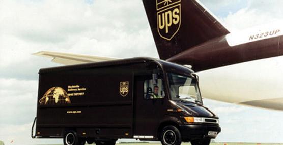 Los envíos de UPS aumentan en un 7,2% en el segundo semestre gracias al tirón del comercio electrónico