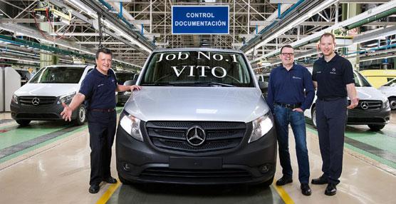 Mercedes Benz Vans arranca la producción de la nueva furgoneta Vito en su fábrica de Vitoria