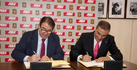 ASM firma el patrocinio que convierte a la compañía en mensajería oficial de la Selección Española de Fútbol