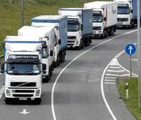 Las matriculaciones de vehículos industriales caen en agosto un 1,2%, según informe de Aniacam
