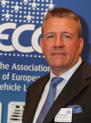 Mike Sturgeon, director ejecutivo de ECG.