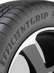 Goodyear gana el premio al 'neumático del año' con el 'Efficientgrip Performance'