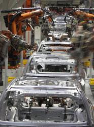 El Índice de Fabricación de Vehículos acumula un alza del 14%, según datos del INE
