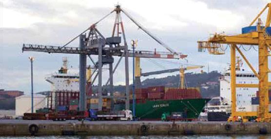 Las delegaciones francesa y española para el desarrollo de la Autopista del Mar Gijón-Nantes intentan asegurar su viabilidad