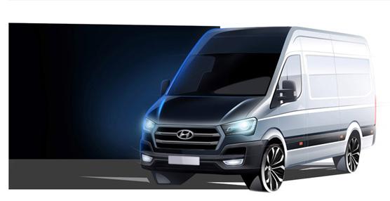 Hyundai Motor fortalece su gama de comerciales con el nuevo furgón industrial para Europa, el H350