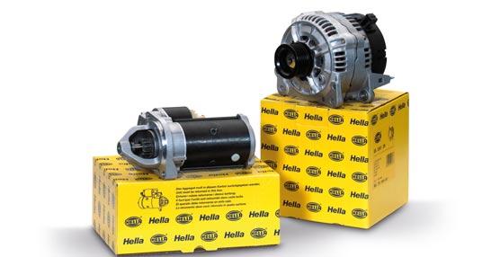 'Temporada de Máquinas Eléctricas 2014' de Hella para su promoción de motores de arranque y alternadores