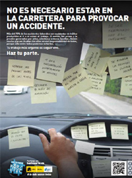 La Dirección General de Tráfico pone en marcha una campaña informativa sobre accidentes 'in itinere'