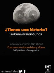 La EMT lanza un concurso de microrrelatos y microvídeos sobre los 'búhos' de Madrid