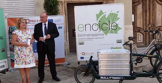 El reparto de mercancías por bicicleta en Valencia podría evitar la emisión de 1560kg de CO2 anualmente