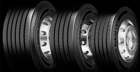 Tercera generación de la familia de neumáticos Conti Hybrid, de 17,5