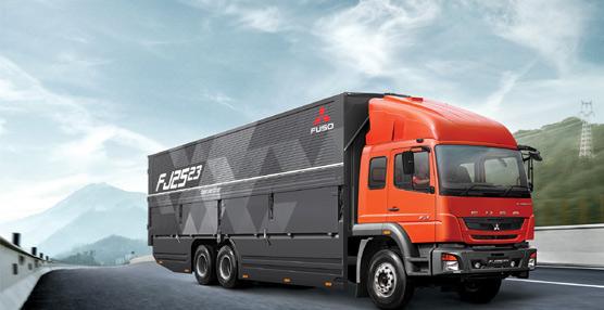 Daimler Trucks presenta sus nuevos camiones Fuso en el Salón Internacional del Automóvil de Indonesia