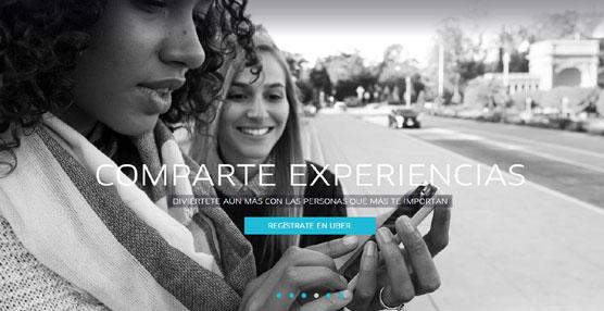 La plataforma 'on line' de uso compartido de vehículos, Uber, anuncia su llegada a Madrid
