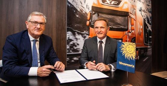 Waberer's International pide otros 1.000 camiones a DAF Trucks mediante un contrato firmado en Hanóver