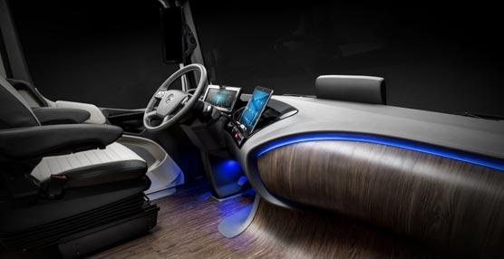 La alemana Mercedes-Benz exhibe su liderazgo tecnológico en la feria de Hanóver con su Future Truck 2025