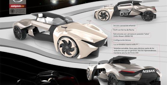 El XVII concurso de diseño Autopista-Nissan ya tiene ganador: José Manuel Aznar con su proyecto 'Nissan Altair'