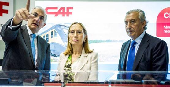 Pastor anuncia en la Feria InnoTrans de Berlín la compra de 40 nuevos trenes hasta 2018 para reforzar la red española