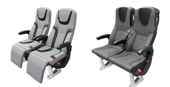 ISRI presenta los asientos EGA Sport y EGA Premium 2+1 que ofrecen un elevado confort en el autocar