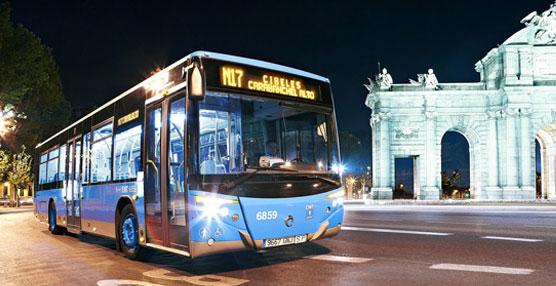 La EMT de Madrid celebra hoy el 40 aniversario de la puesta en marcha de su servicio nocturno o 'búhos'