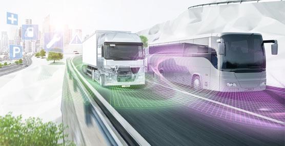 Bosch expone sus tecnologías para mejorar la conectividad y la eficiencia de los vehículos industriales