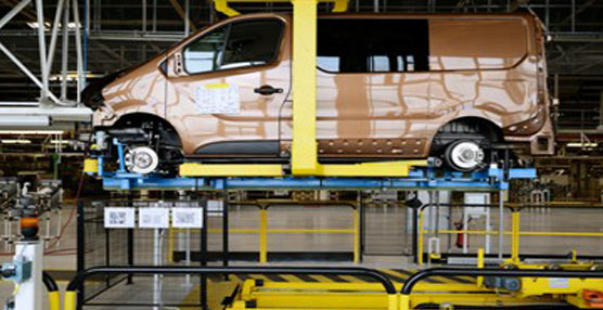 La marca Renault inagura una nueva línea de producción en su planta de Sandouville en Francia